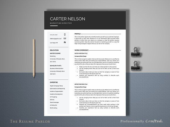 94 best Resumes u2013 grab the job images on Pinterest Resume - professional resume fonts