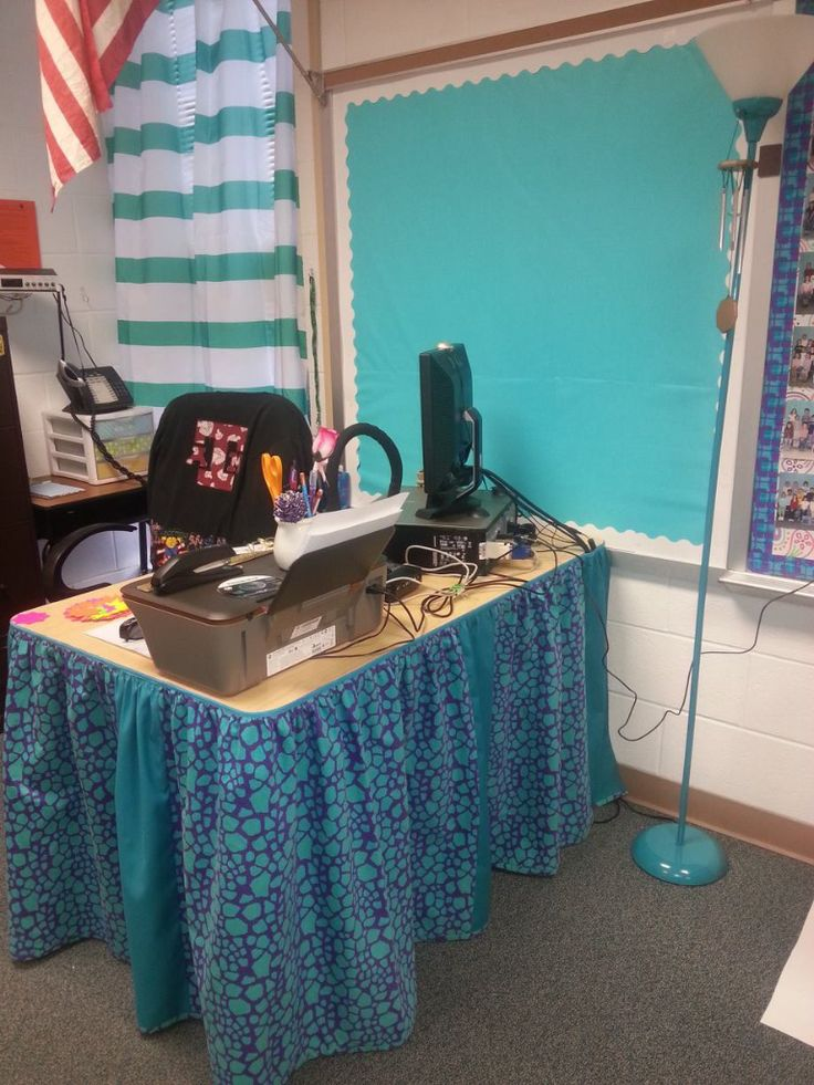 17 Best Ideas About Desk Skirt On Pinterest Classroom