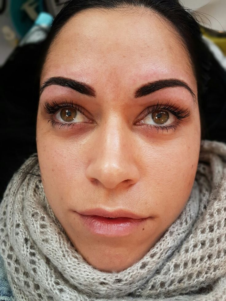 """Brows Only Micropigmentation Course. STUDENTS MASTERPIECE """"FIRST BROW TATTOO ATTEMPT"""" @covetbrows"""