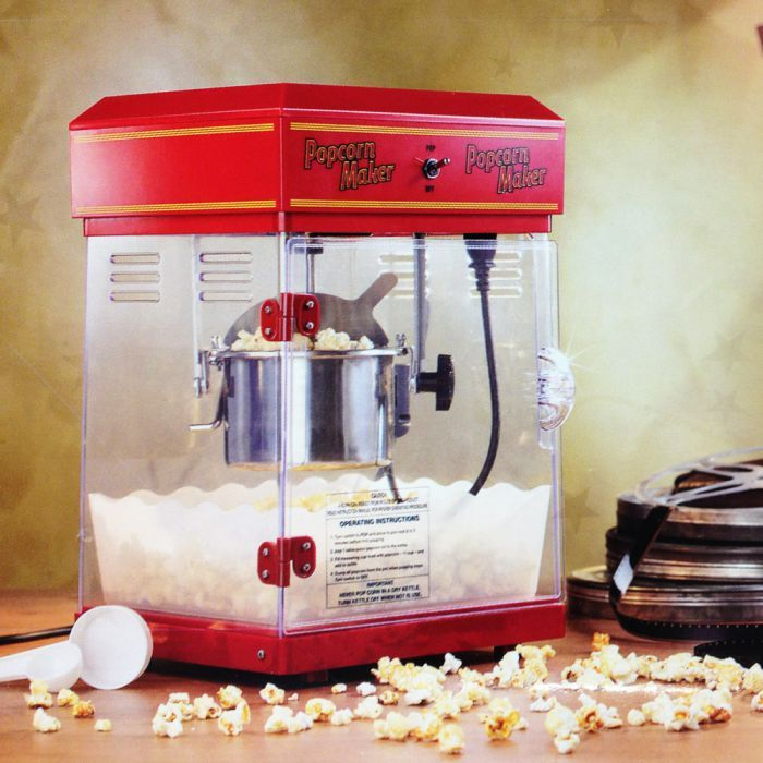 Popcorn Maschine Deluxe via: monsterzeug.de