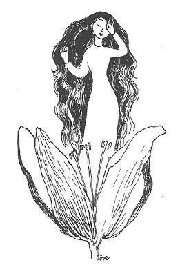 """""""Ja Muumipeikko kumarsi syvempään kuin koskaan, sillä sinitukkainen tyttö oli kaunein minkä hän oli eläessään nähnyt."""" Muumit ja suuri tuhotulva"""