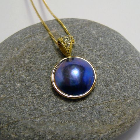 Pearl Pendant – Unio Goldsmith