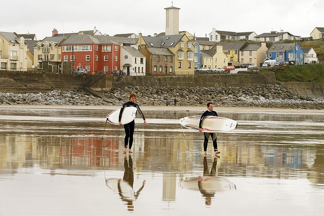 Lahinch surfing. Ireland.