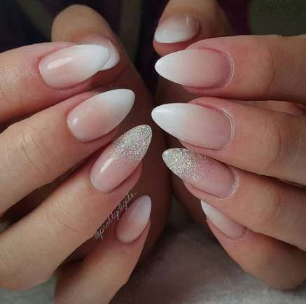 55 super ideas wedding nails ombre oval with images