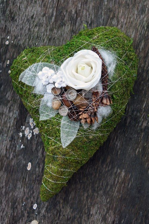 Hearts from the flower - Flower art & designs