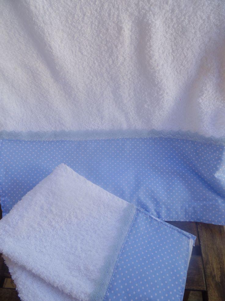 Bapteme, towel set, boy
