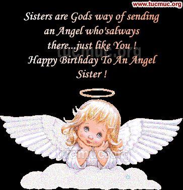 birthday cards for sister   Facebook Happy Birthday Sister Scraps FB Status
