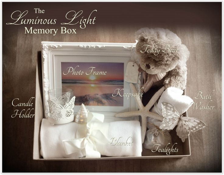 CarlyMarie Project Heal | Create a Memory Box for a mother who has lost a baby or pregnancy.