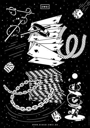 plakat00 disco01 poster by jonas thessen