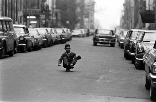 Skateboarding in New York City as pictured by photographer Bill Eppridge in 1965.  Skateboarding, as the old saying has it, is not a crime. But as these pictures show, riding a deck can sure feel criminally fun.,