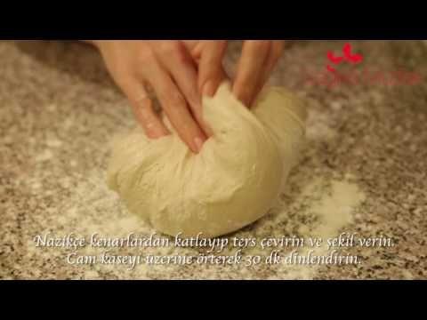 Ekşi Mayalı Ekmek Tarifi - YouTube