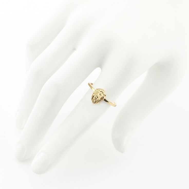 Lion Ring Gold | Fashion Jewellery