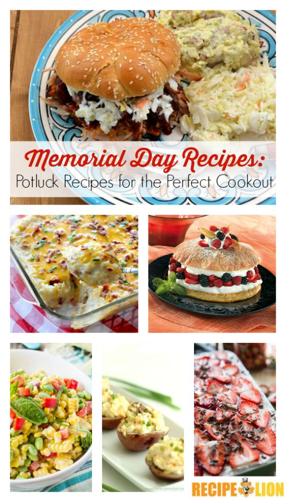 memorial day recipes taste of home