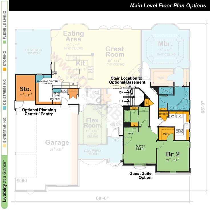 Award Winning Open Floor Plans: 1000+ Ideas About One Story Homes On Pinterest