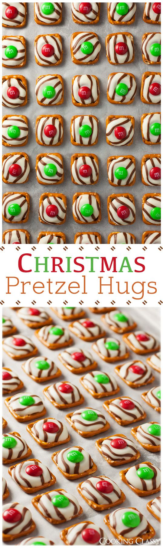 Christmas Pretzel Hugs - these things are amazingly easy to make and amazingly delicious!