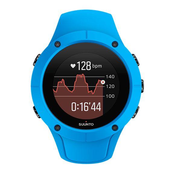 Suunto Spartan Trainer Wrist HR Blue - montre d'entraînement GPS