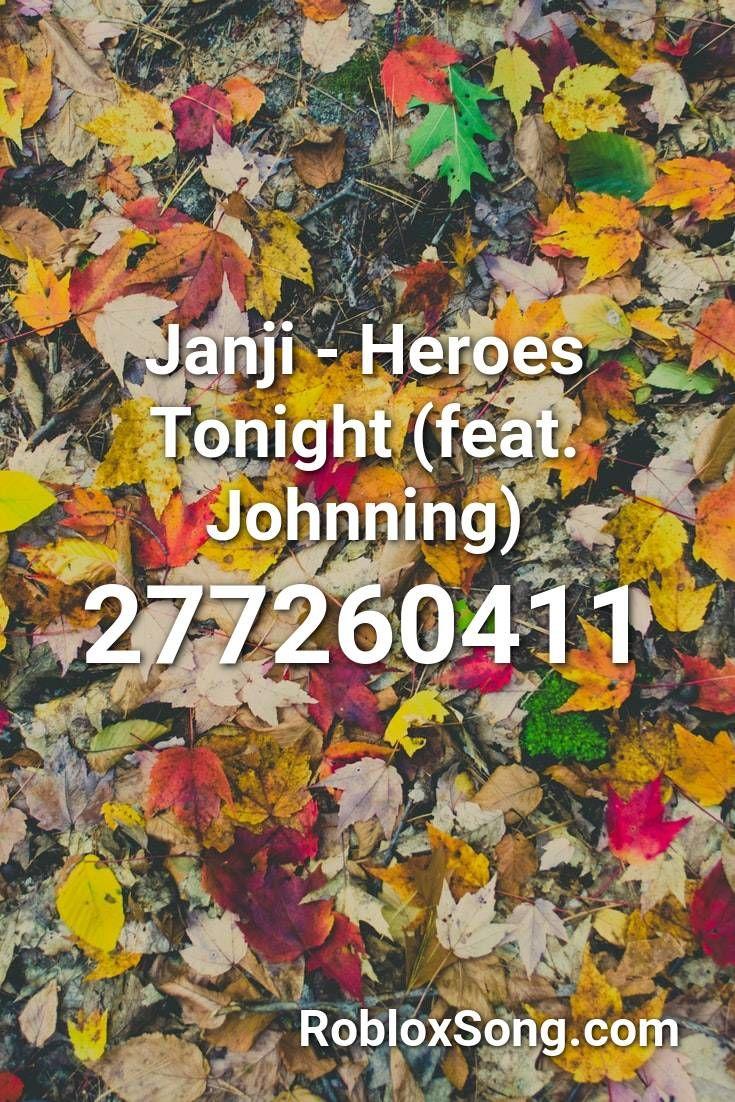 Janji Heroes Tonight Feat Johnning Roblox Id Roblox Music
