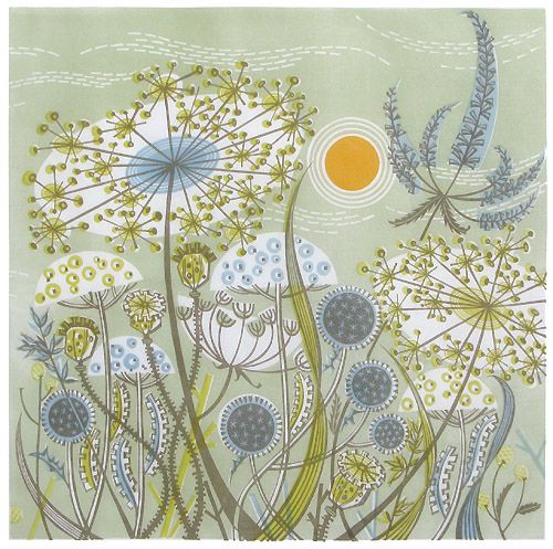 Angie Lewin - Green Meadow | Flickr : partage de photos !