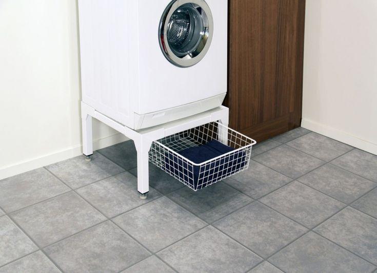 Förhöjningssockel med Korg till Tvättmaskin