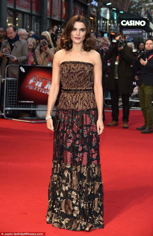 Rachel Weisz in Lanvin at the premiere of new movie, Youth in London on October 15, 2015