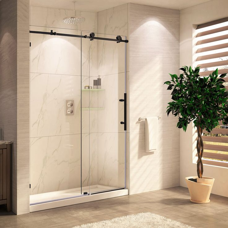 paragon bath frameless shower door oil rubbed bronze