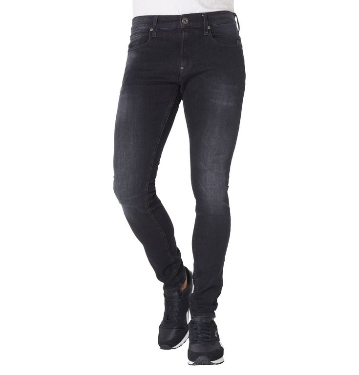 Jeans, Skinny Fit, dezente Waschung