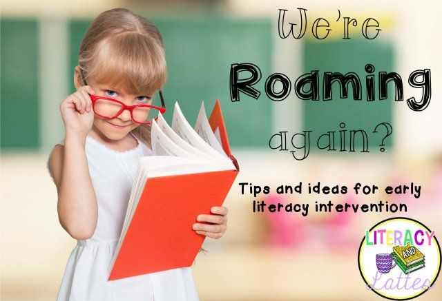 Ideas for Roaming Around the Known in Reading Recovery.  Perfect for early lessons with emergent readers, title I, homeschool or reading intervention