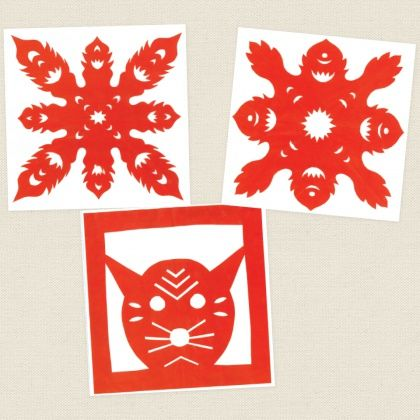 Chinese Paper Cutting -  Create gorgeous patterns while learning more about Chinese New Year with this Chinese Paper Cutting activity.