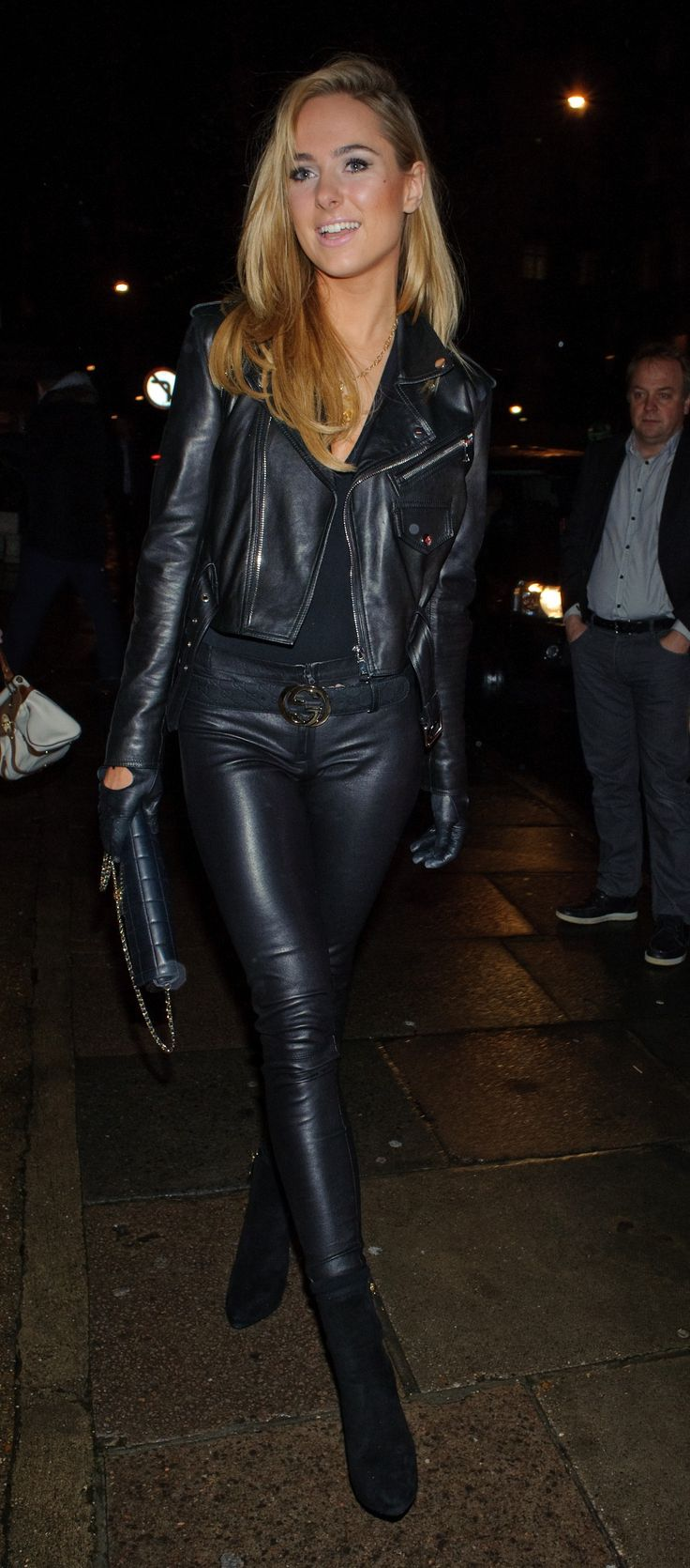 1000  images about Clothing: Women - Leather on Pinterest