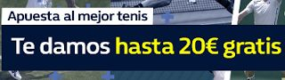 el forero jrvm y todos los bonos de deportes: William Hill promocion 20 euros tenis 30-31 octubr...