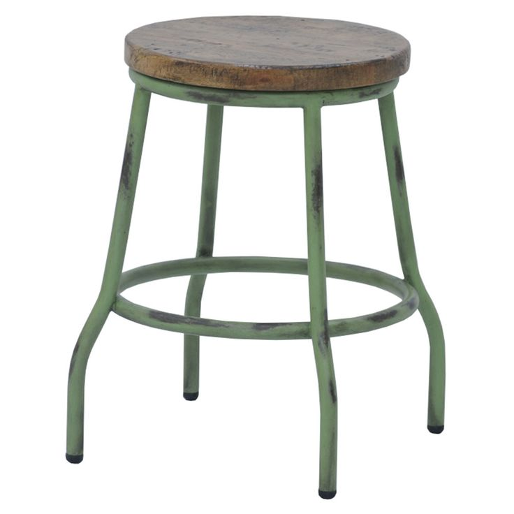 Use distressed furniture such as our Limehouse Pipe Stool to create a cool, vintage-style look