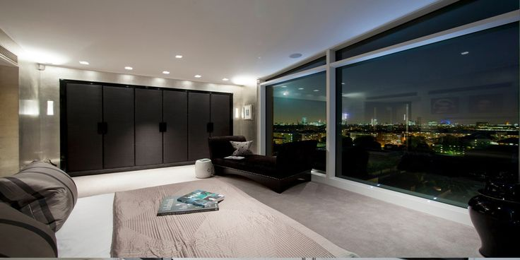 Modern Bedroom Area