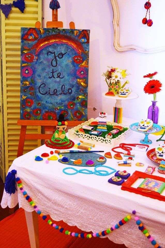 Frida en el cumple de Déb | CatchMyParty.com