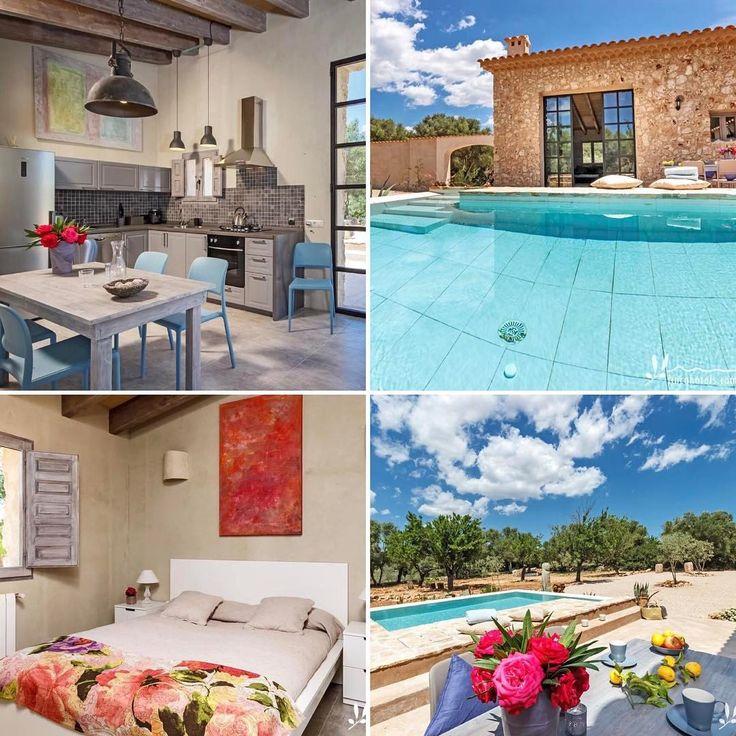 """Gefällt 184 Mal, 1 Kommentare - fincahotels.com (@fincahotels) auf Instagram: """"Urlaub zu zweit in einem süßen Ferienhaus mit eigenem Pool auf Mallorca. Wen würdet ihr mitnehmen?…"""""""