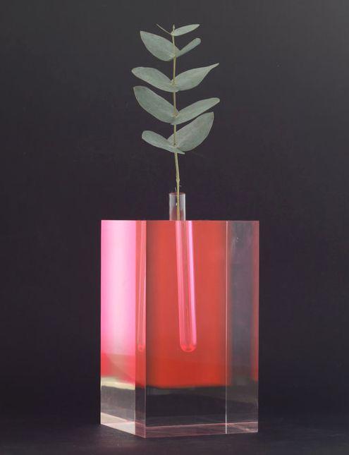 """pylore: """" Flower Vase #2 - Shiro Kuramata (1989) """""""