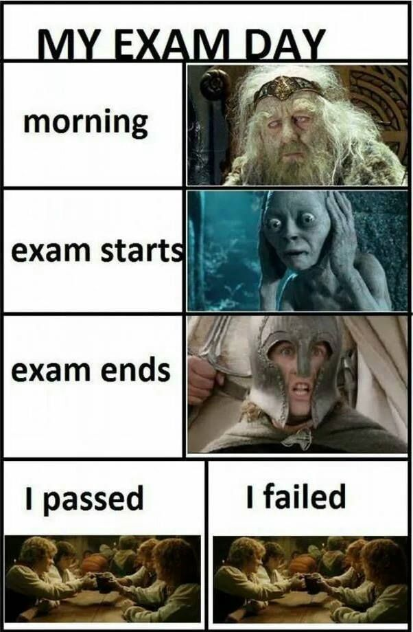 Exam Day Expression!
