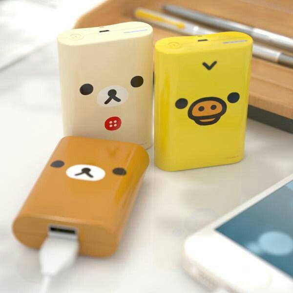 Kawaii charger packs