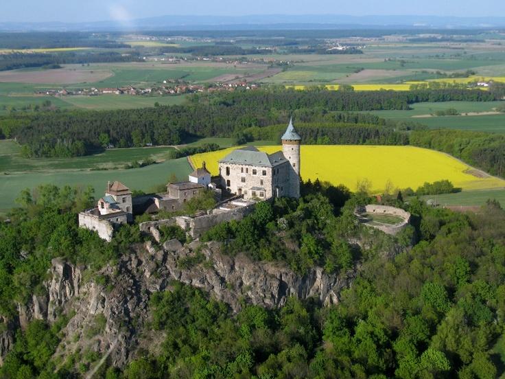 Česko, Kunětická Hora - Hrad