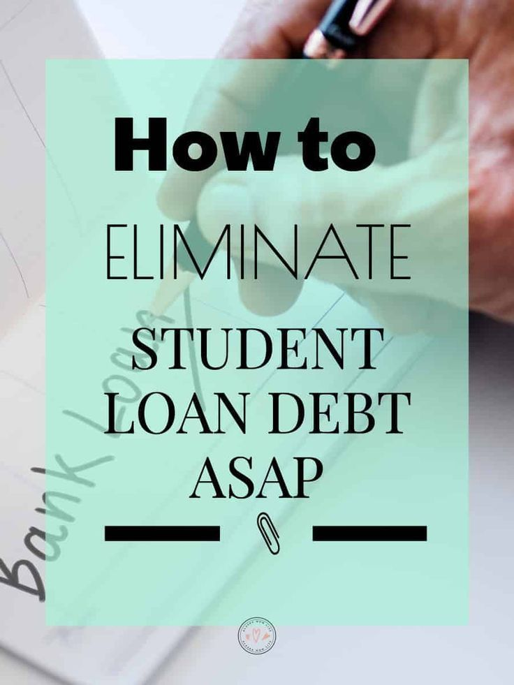 How To Eliminate Student Loan Debt Asap Student Loan Repayment Plan Student Loan Forgiveness Student Loans
