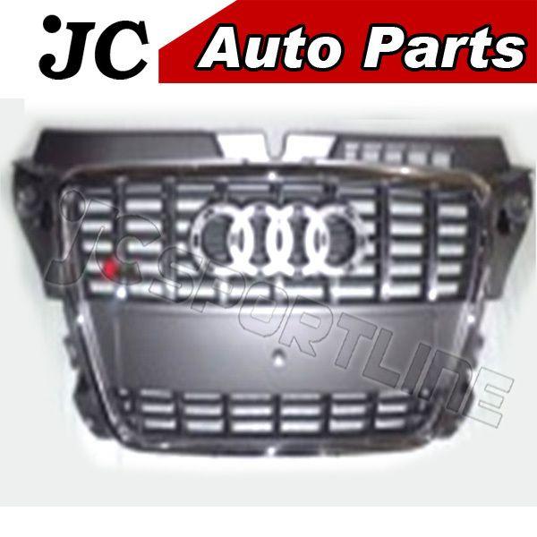 Решетка радиатора серый цвет для 08 - 12 Audi A3 подходит для A3 S3fits : стандартный A3 бампер для Audi