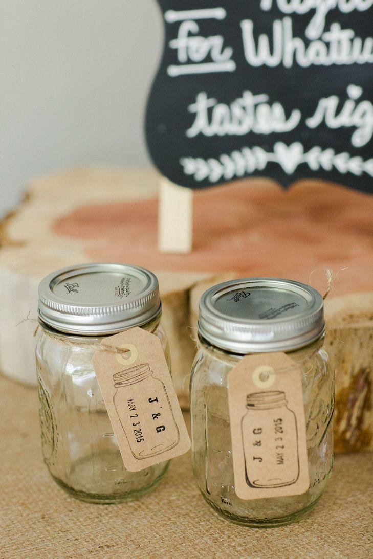 pinterest mason jar bridal shower favors%0A A little  wedding inspiration for a bride tobe  Mason Jar Wedding  FavorsMason
