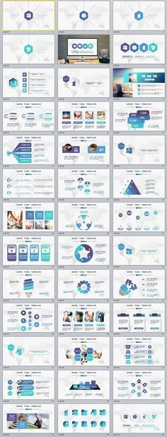 35+ white Annual Report PowerPoint Templates
