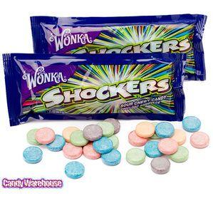 Wonka Shockers Candy Packs: 24-Piece Box