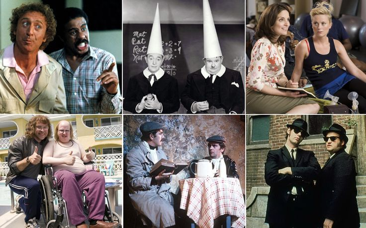 The Odd Couple, The Two Ronnies, Amy Poehler and Tina Fey. Laurel and Hardy.   Here's our pick of the greatest comedy duos | The Telegraph http://www.telegraph.co.uk/culture/comedy/11444730/The-25-best-comedy-duos.html