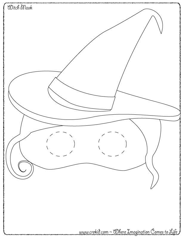 CreKid.com - Bat Mask - Spark your child's imagination and creativity. Preschool - Pre K - Kindergarten - 1st Grade - 2nd Grade - 3rd Grade. www.crekid.com