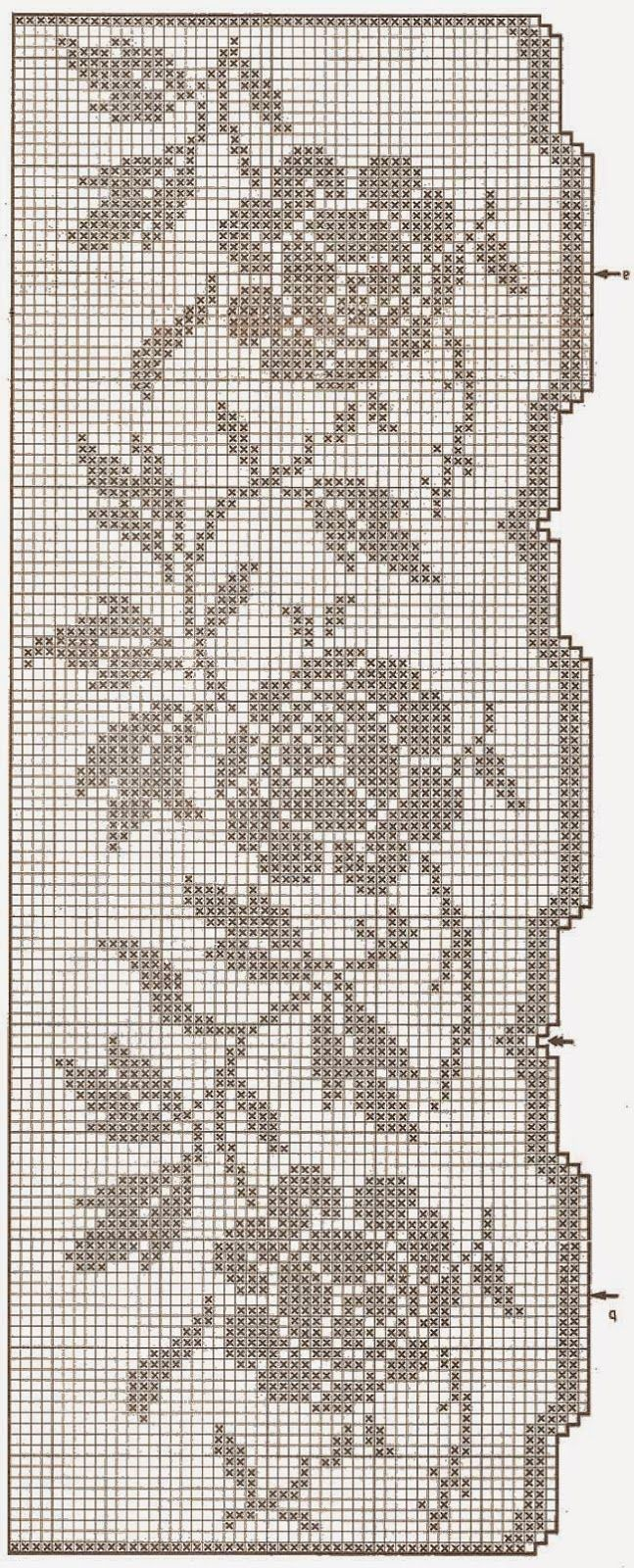 bordo rose | Hobby lavori femminili - ricamo - uncinetto - maglia