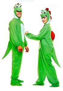 Yoshimoto Green Dinosaur Adult Unisex Costume