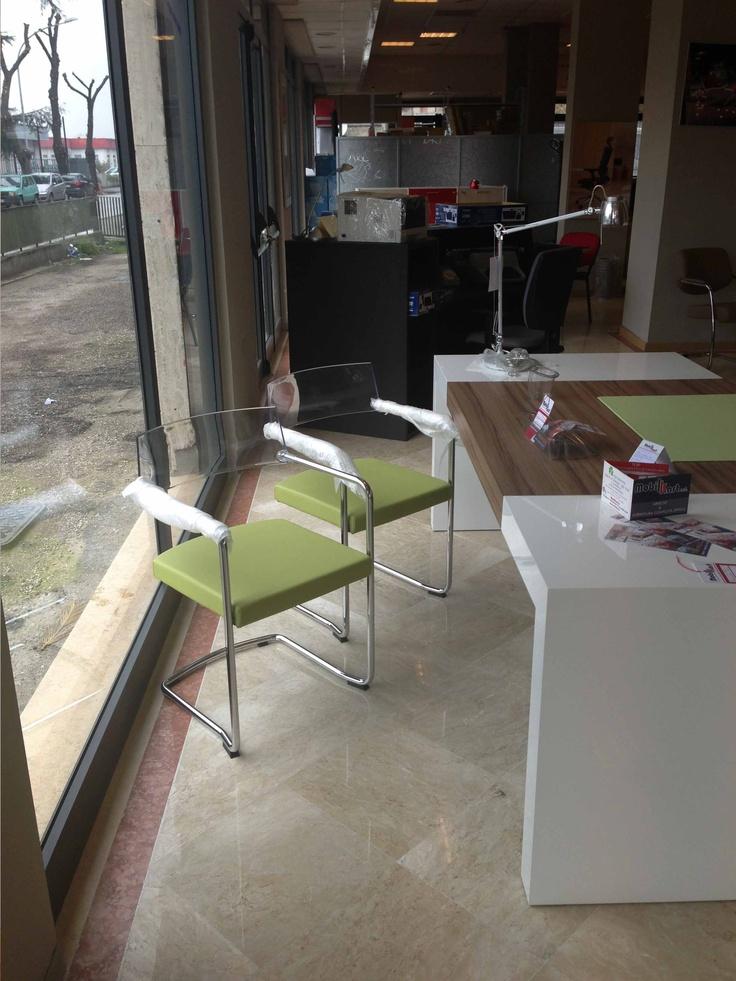 sedie per ospiti in office