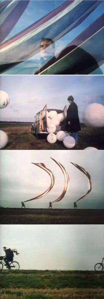 "Pink Floyd ""High Hopes"" (1994), dir. Storm Thorgerson                                                                                                                                                                                 More"