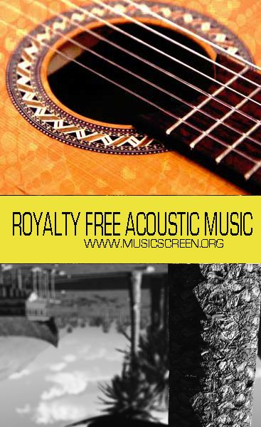 Royalty free acoustic Music